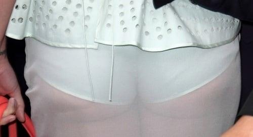 Katy Perry Shows Panties In See Thru Dress-5775