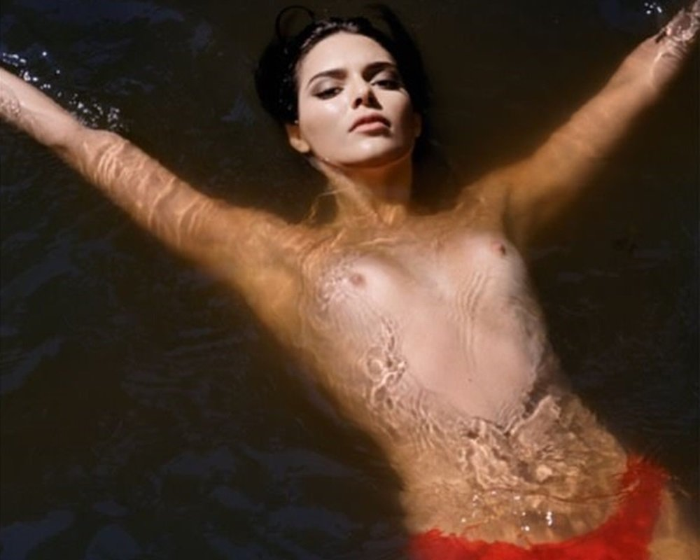 Kendall Jenner nude topless