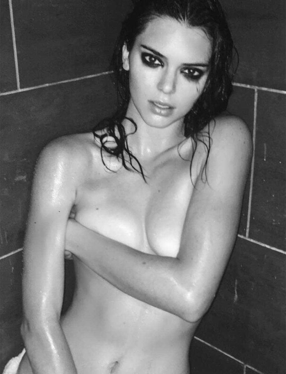 """Kendall Jenner Full Nude """"Angels"""" Photo Shoot Leaked"""