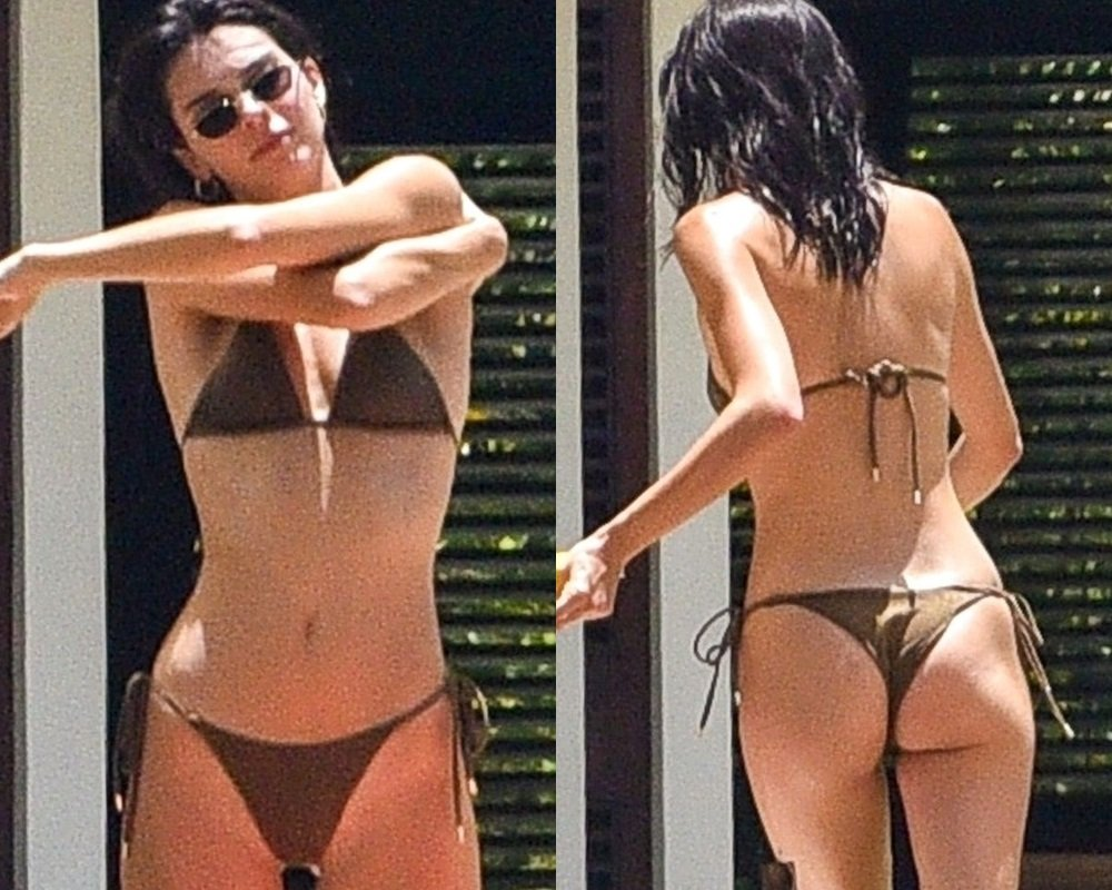 Kendall Jenner Thong Bikini Bachelorette Party Pics