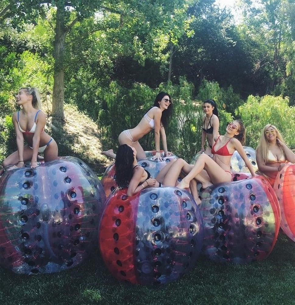 Kylie Jenner Throws Slutty Bikini Pool Party