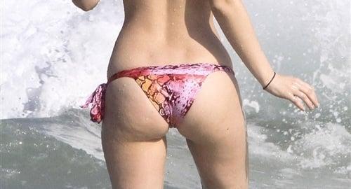 Leighton Meester thong bikini