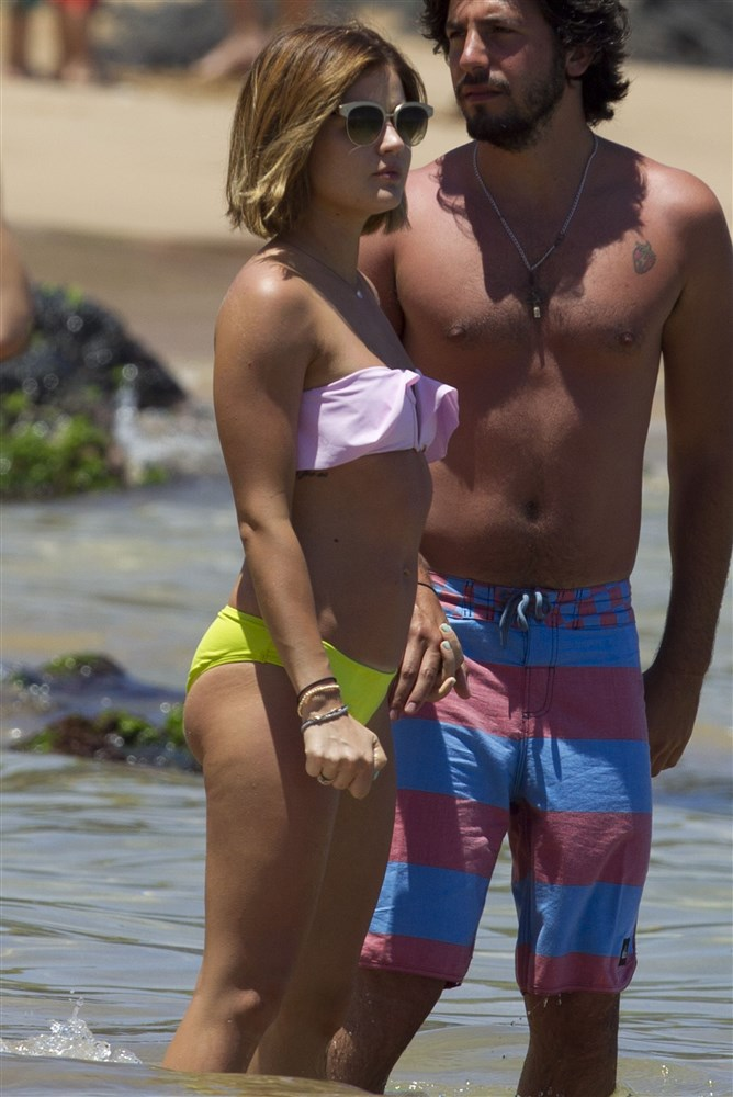 Lucy Hale Bikini Pics From Hawaii