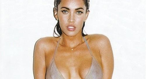 Megan fox tan and nude