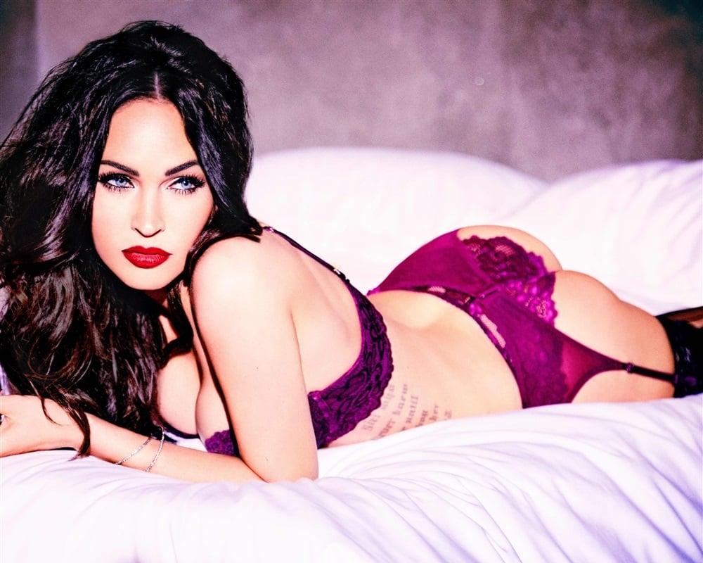 Megan Fox lingerie