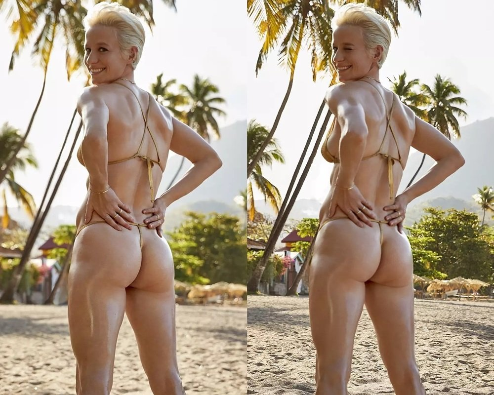 Megan Rapinoe Shows Her Nude Ass And Tells Trump To Kiss It-6186