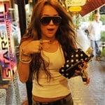 Miley Cyrus' Crotch Swallows Her Shorts