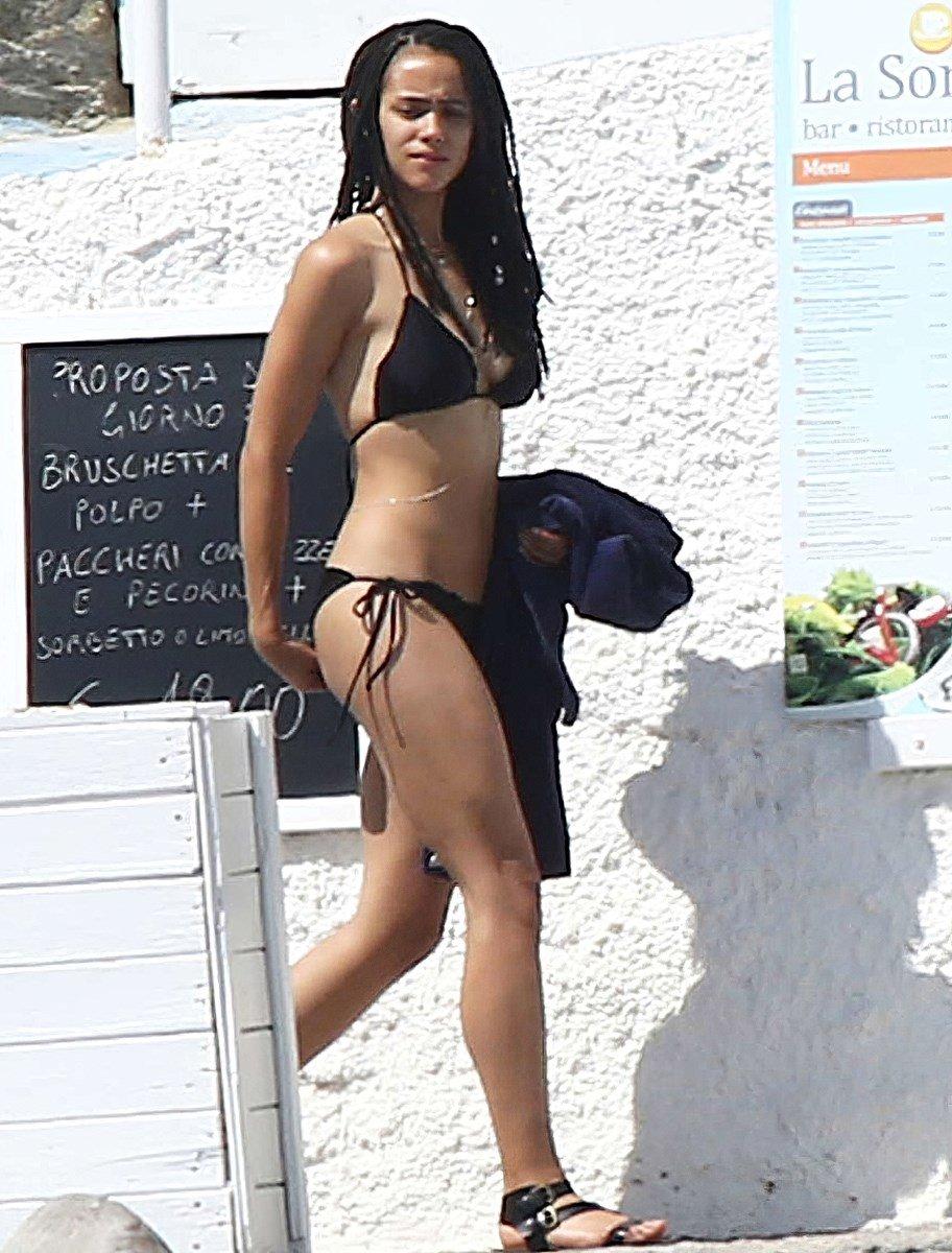 Nathalie Emmanuel Booty Bikini Boat Pics