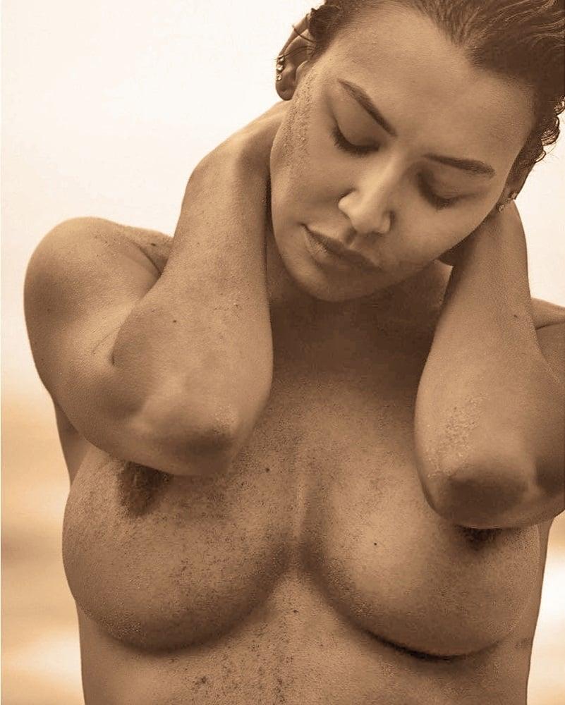 Big boobs tied nude