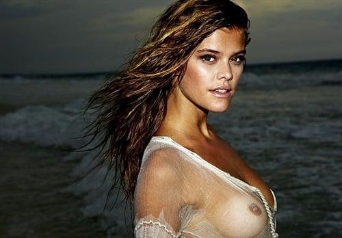 Nina Agdal breasts
