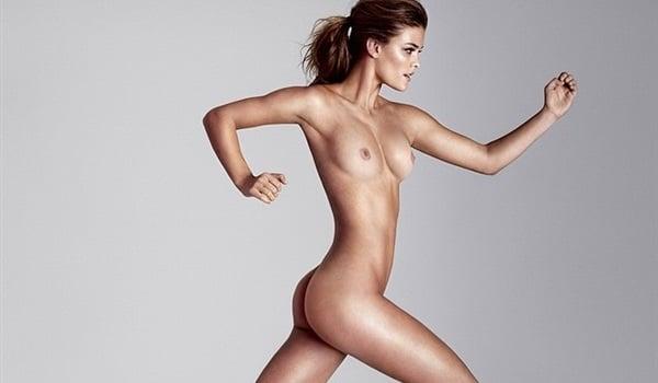 running around the house naked