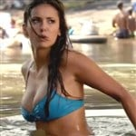 Nina Dobrev In A Bikini On 'The Vampire Diaries'