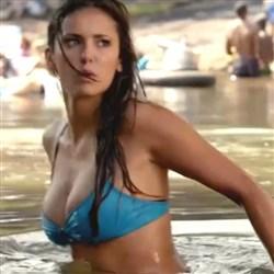 Nina Dobrev In A Bikini On 'The Vampire Diaries'