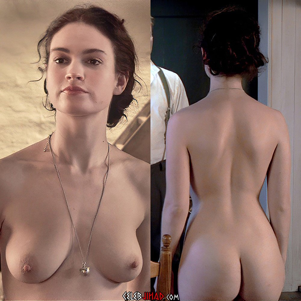 """Lily James Nude Scene From """"The Exception"""" Uncut"""