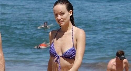 Olivia Wilde Candid Bikini Pics In Hawaii