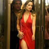 Olivia Wilde Caught With Hard Nips While Cheating On Her Husband