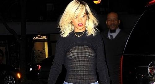 Rihanna tits