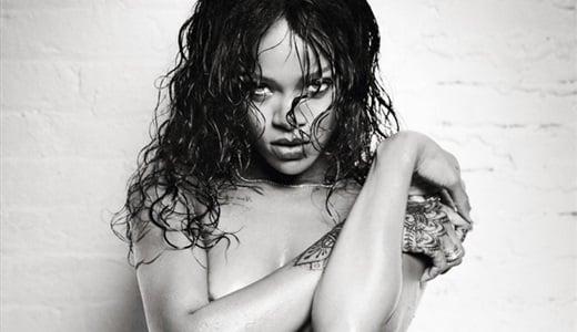 Rihanna wet naked