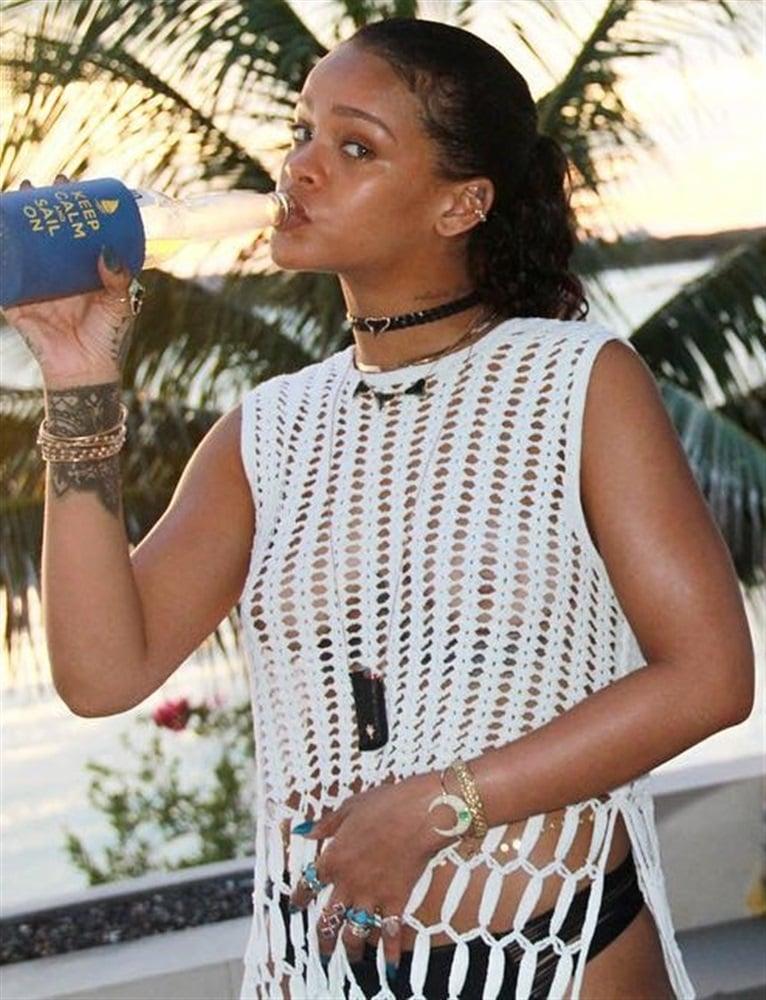 More Rihanna Thong Bikini Vacation Pics