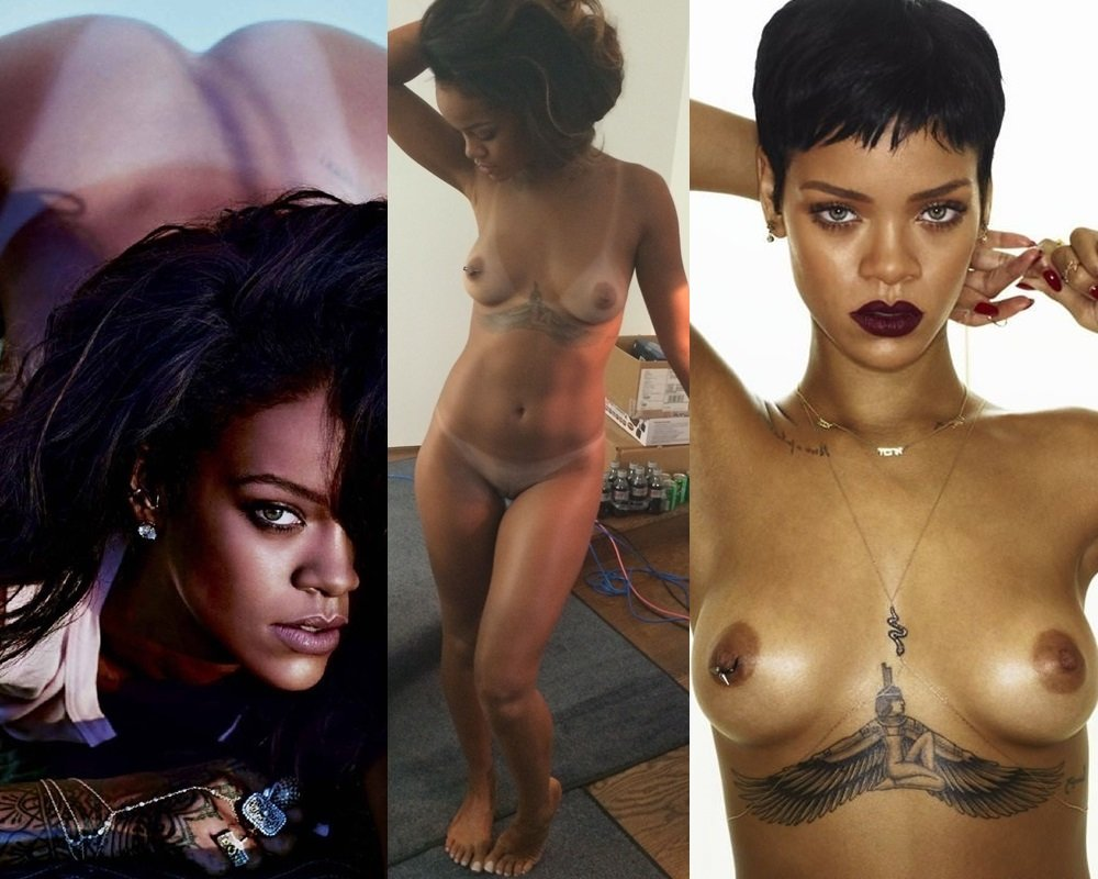 Free all nude pics of rihanna