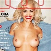 Rita Ora Topless On The Cover Of Lui Magazine