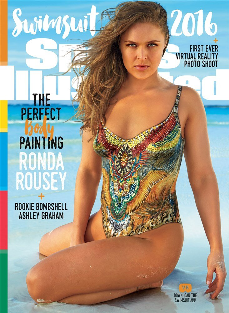 Ronda Rousey's Boobs And Ass In Sports Illustrated Behind-The-Scenes Video