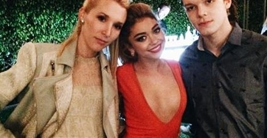 Sarah Hyland Shows Deep Cleavage For Her 24th Birthday