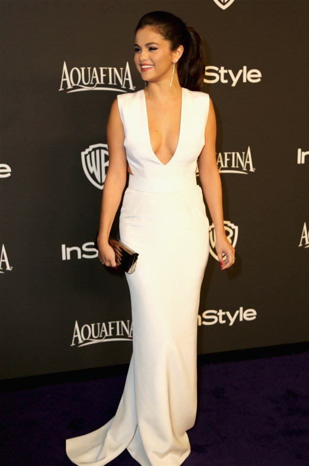 Selena Gomez Looks Fat And Gay At Golden Globes After Party