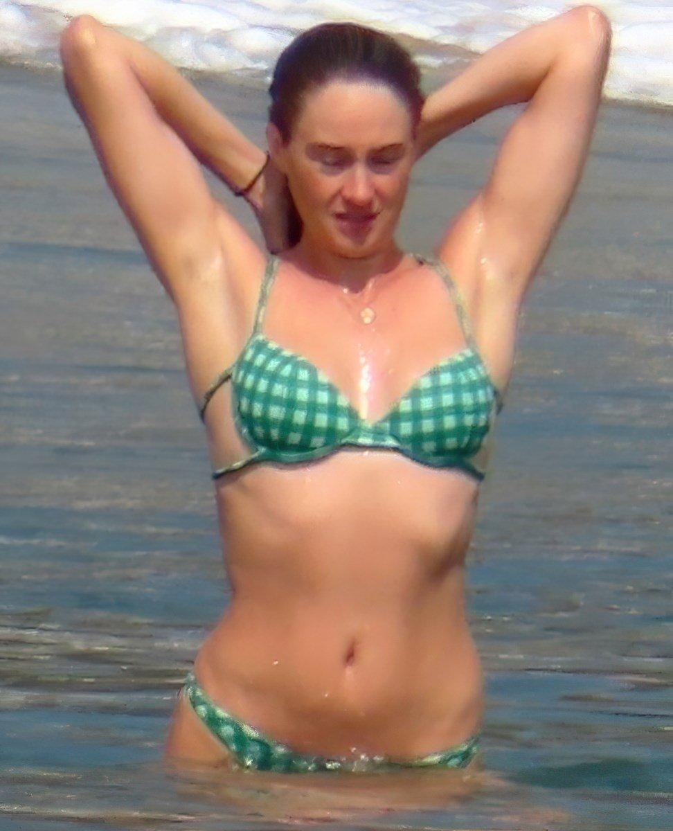 Shailene Woodley Caught Sunbathing Topless On A Nude Beach