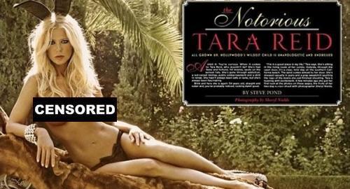 Tara reid playboy nudes