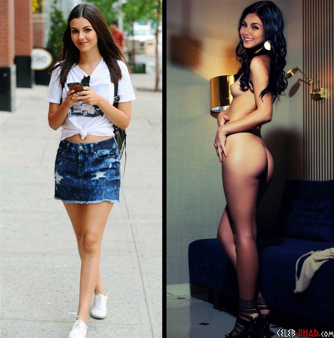 "Victoria Justice ""Cute Mode Slut Mode"" Nude Photos Gallery"