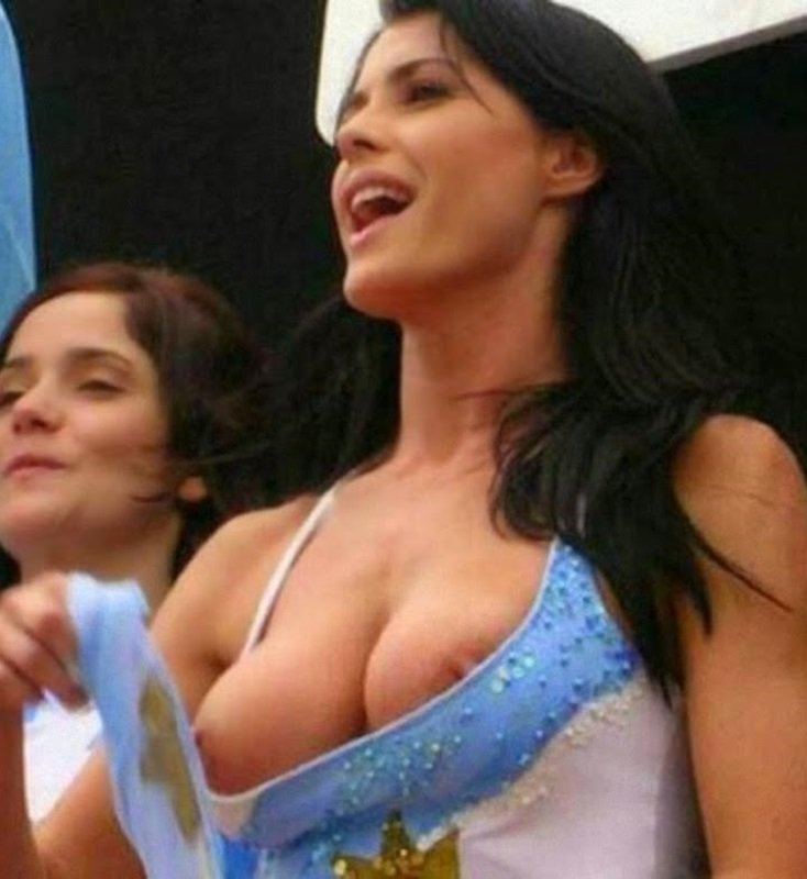 Argentinian World Cup girl