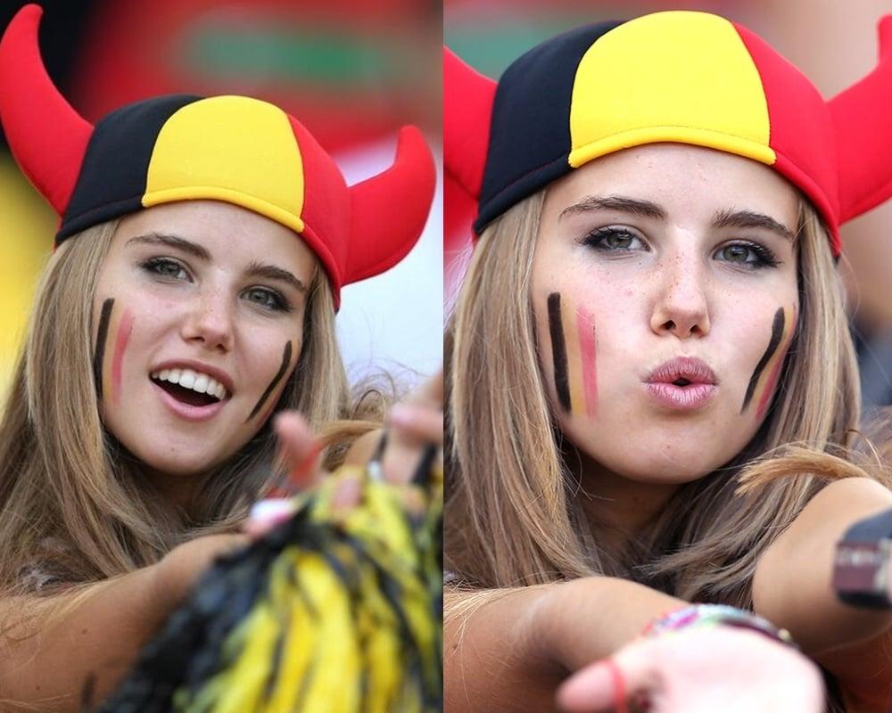 Belgian World Cup girl
