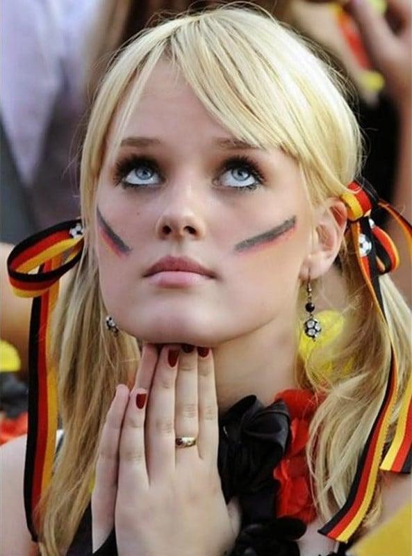 German World Cup girl