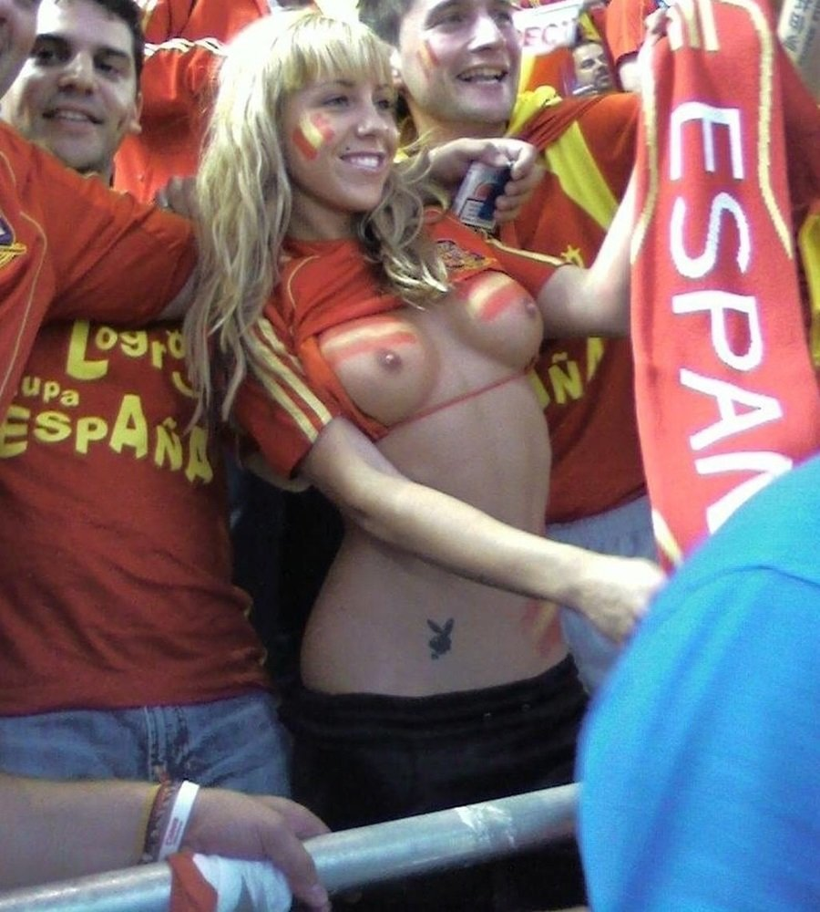 Spanish World Cup girl