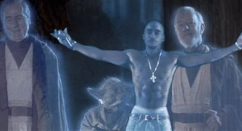 2pac hologram Star Wars