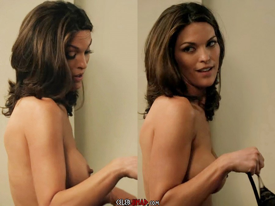 "Alana de la Garza Nude Scene From ""Are You Here"""