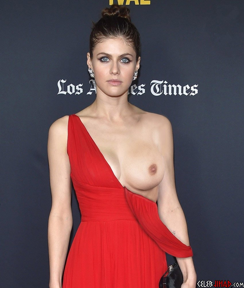 """Alexandra Daddario Nude Tits And Ass From """"The White Lotus"""" Enhanced In 4K"""