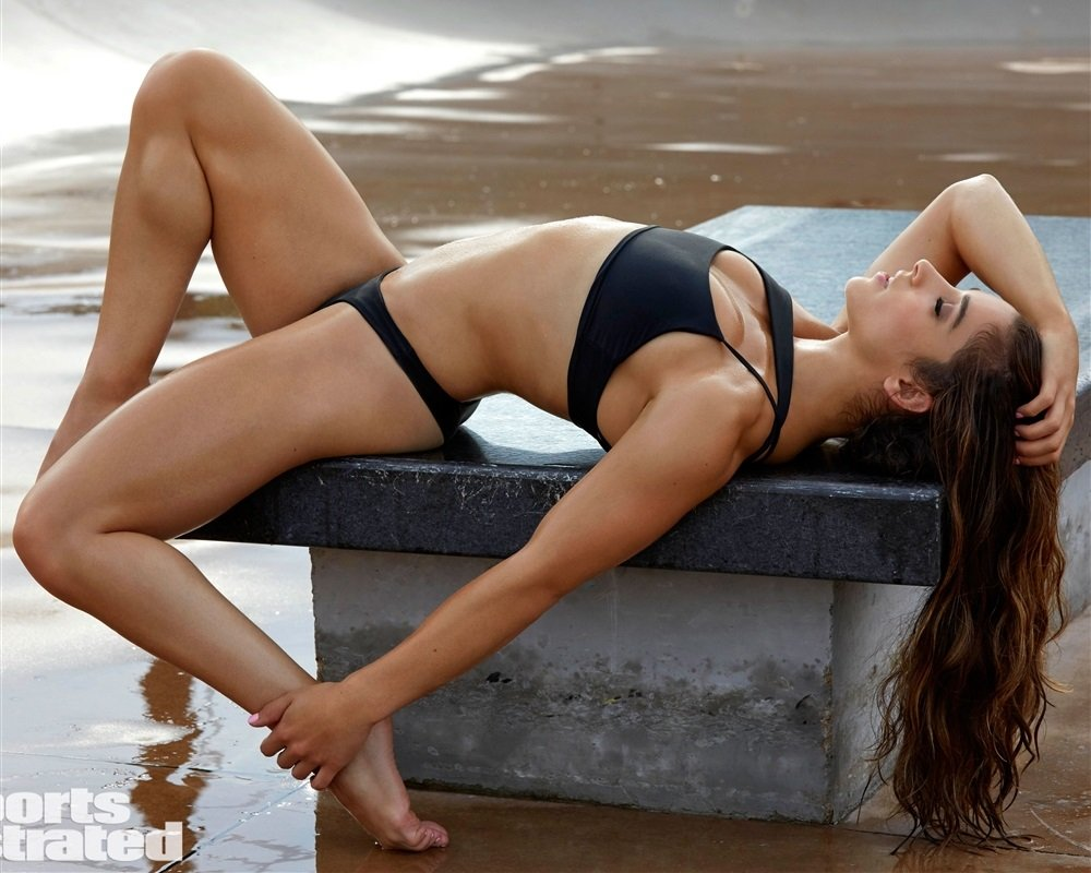 Aly Raisman Sports Illustrated Swimsuit Preview Video