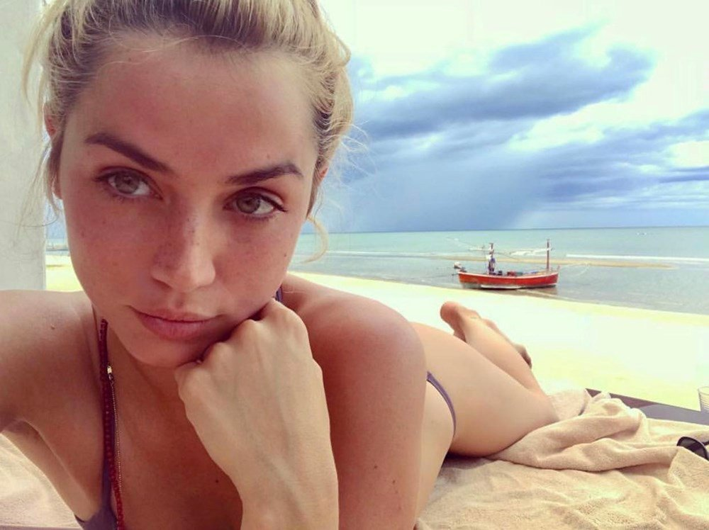 Ana de Armas beach bikini