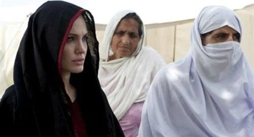 Angelina Jolie burka