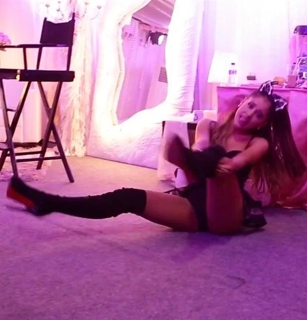 panties Ariana grande no