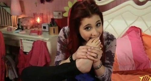 Ariana Grande Has A Sick Foot Fetish-3851