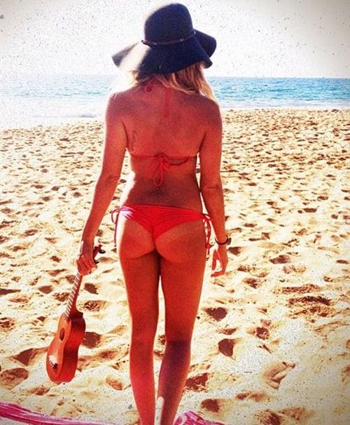Ashley Tisdale bikini thong