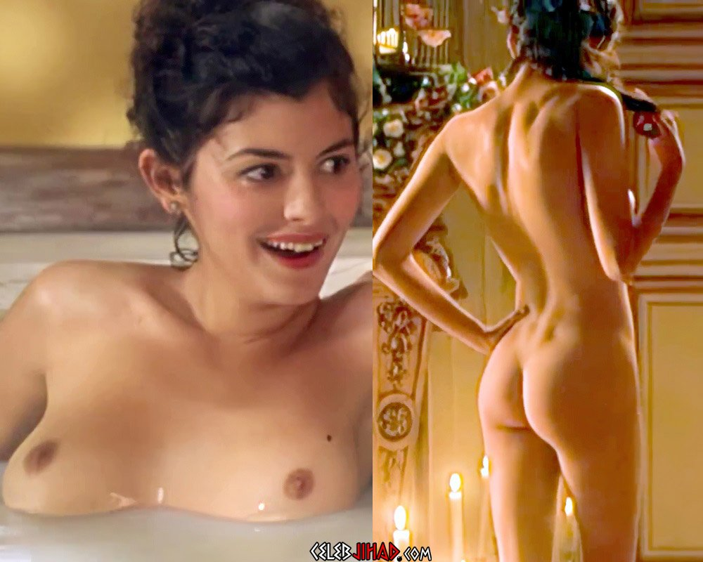 """Audrey Tautou Nude Scene From """"The Libertine"""" Remastered And Enhanced"""