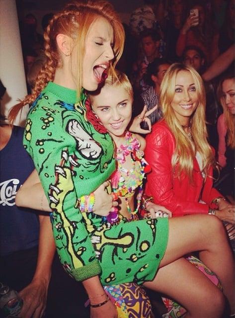 Bella Thorne Miley Cyrus