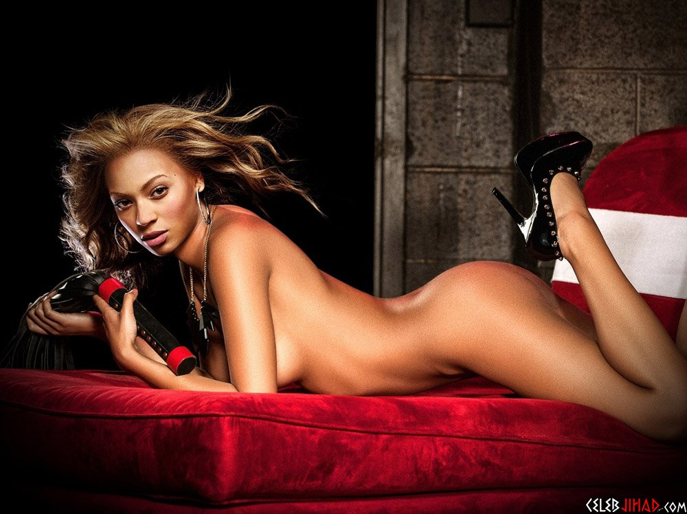 Beyonces First Nude Photo Shoot Preview-6743