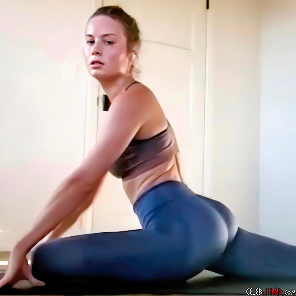 Brie Larson's Incredible Ass Transformation