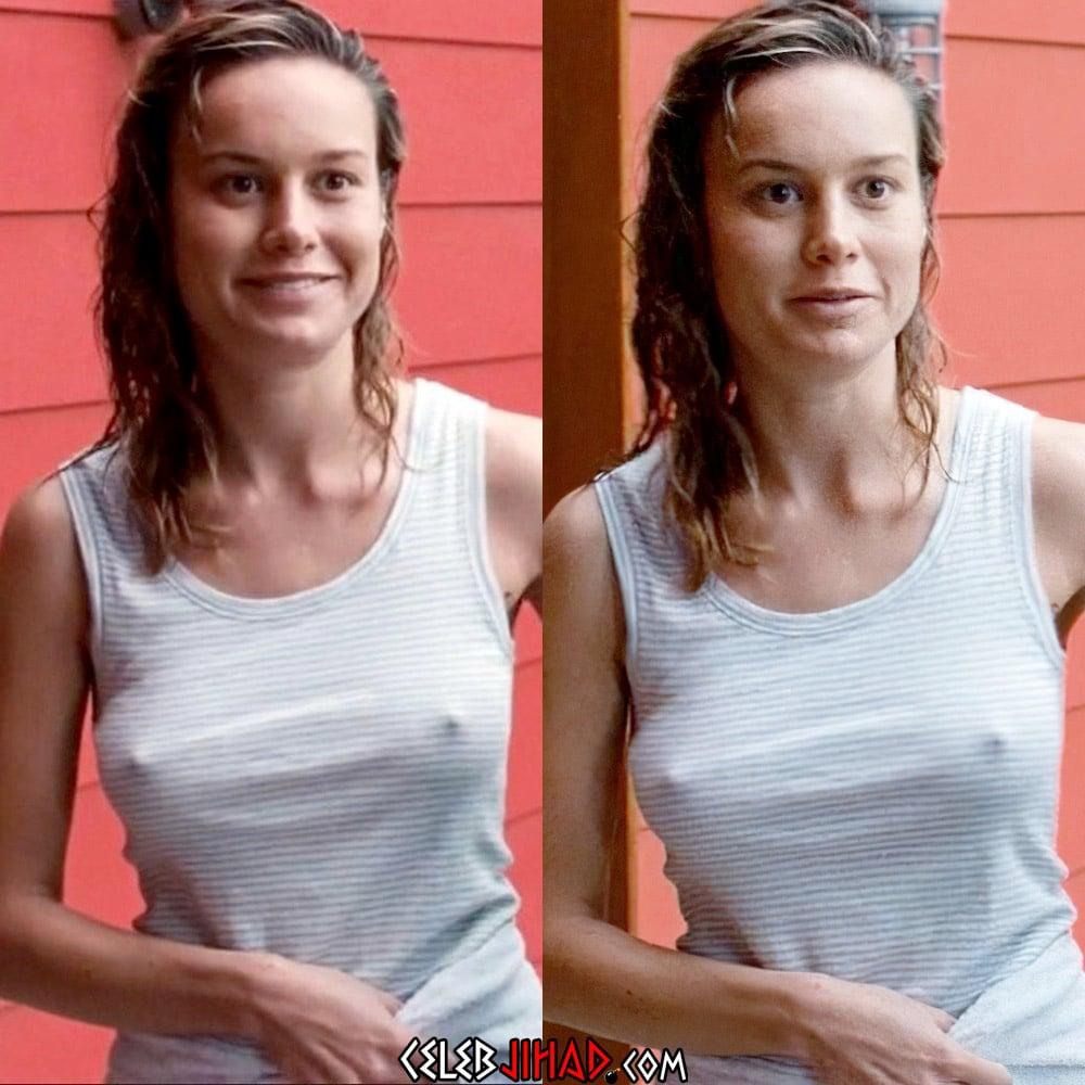 Brie Larson Nip