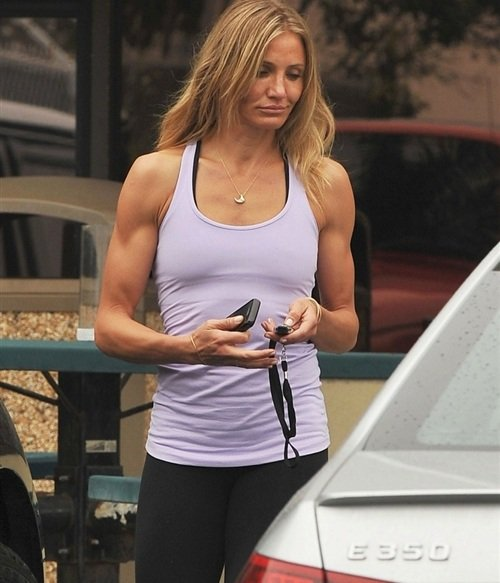 Cameron Diaz steroids